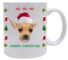 Chihuahua Christmas Mug