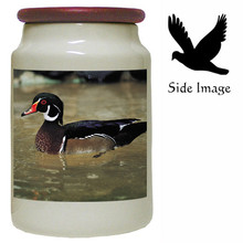 Duck Canister Jar