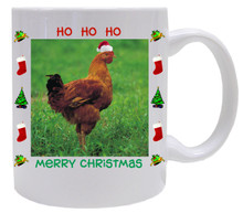 Chicken Christmas Mug