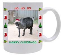 Goat Christmas Mug