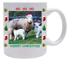 Lamb Christmas Mug