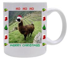 Llama Christmas Mug