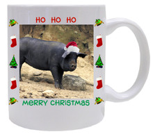 Pig Christmas Mug