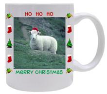 Sheep Christmas Mug