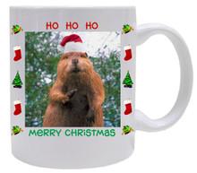 Beaver Christmas Mug