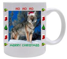 Coyote Christmas Mug