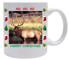 Elk Christmas Mug