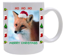 Fox Christmas Mug