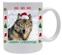 Wolf Christmas Mug