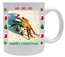 Crab Christmas Mug