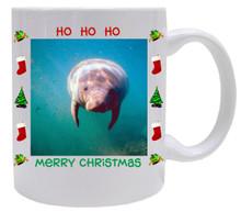 Manatee Christmas Mug