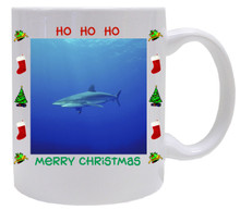 Shark Christmas Mug