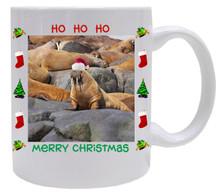 Walrus Christmas Mug