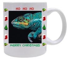 Chameleon Christmas Mug