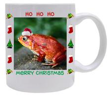 Tomato Frog Christmas Mug
