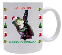 Tree Frog Christmas Mug
