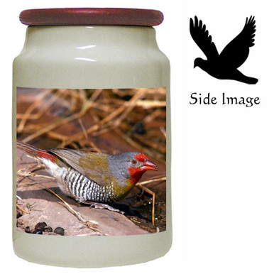 Finch Canister Jar