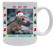Iguana Christmas Mug