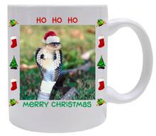 Cobra Snake Christmas Mug