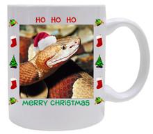 Copperhead Snake Christmas Mug