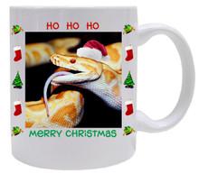 Python Snake Christmas Mug