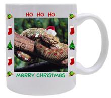 Viper Snake Christmas Mug