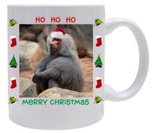 Baboon Christmas Mug