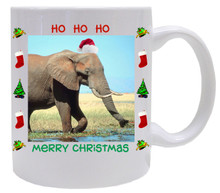 Elephant Christmas Mug