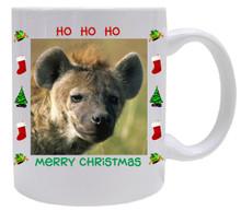 Hyena Christmas Mug