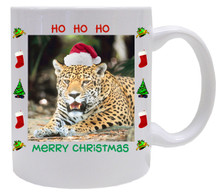 Jaguar Christmas Mug