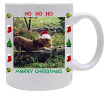 Lion Christmas Mug
