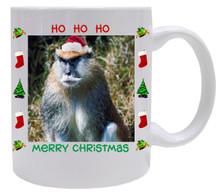 Monkey Christmas Mug