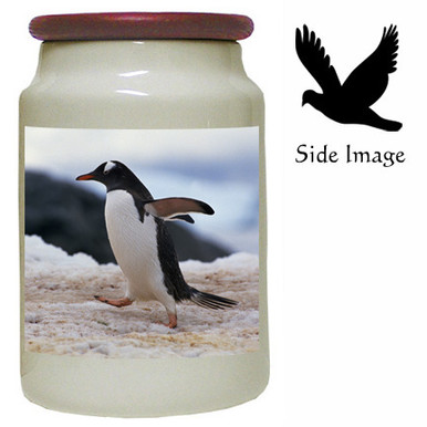 Penguin Canister Jar
