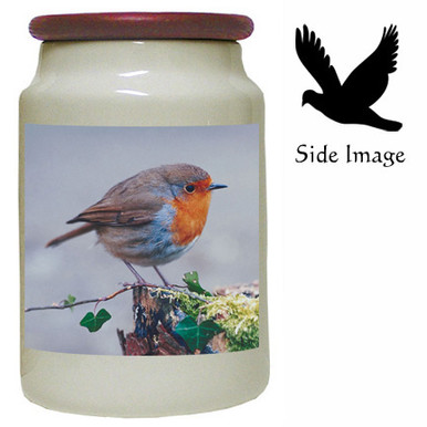 Robin Canister Jar