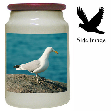 Seagull Canister Jar