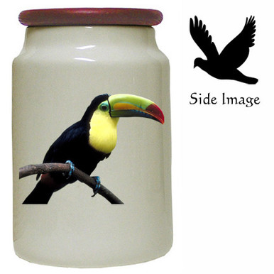 Toucan Canister Jar