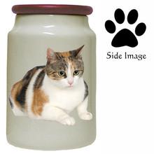 Calico Cat Canister Jar