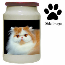 Persian Cat Canister Jar