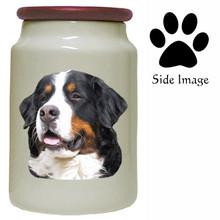 Bernese Mountain Dog Canister Jar