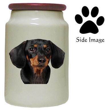 Dachshund Canister Jar