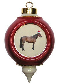 Oldenburg Victorian Red and Gold Christmas Ornament