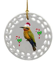 Bee Eater Porcelain Christmas Ornament