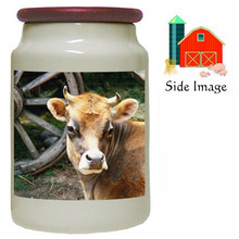 Cow Canister Jar