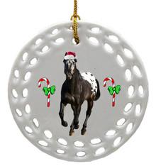 Appaloosa Porcelain Christmas Ornament