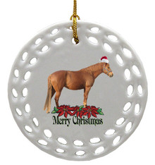 Barb Porcelain Christmas Ornament