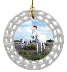 Camargue Porcelain Christmas Ornament