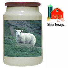 Sheep Canister Jar