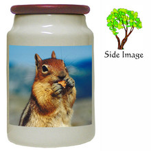 Chipmunk Canister Jar