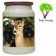 Deer Canister Jar