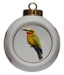 Bee Eater Porcelain Ball Christmas Ornament